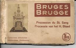 Brugge Bruges Procession Du Saint Sang Carnet 24 Cartes Manque N° 1;6,7;18;21;22;23 - Brugge