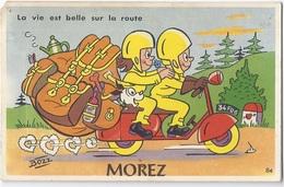CPA - Carte Mécanique - Morez - La Vie Est Belle Sur La Route - Morez