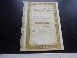 GUSTAVE JOBERT (1963) MOSTAGANEM,ALGERIE - Shareholdings