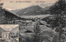 Autriche - Die Fahrt Ins Stubaital - Stubai Talansicht - Autriche