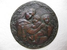 Médaille Madonna Dell Seggiola - La Vierge à La Chaise - Par RAFFAELLO - Unclassified