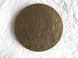 Médaille Vaccination Variole 1928 Montpellier Attribué PAPPAS Par PATEY - Francia