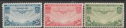 5Ez-647:restje Van   3 Zegels: N° A21/23   : Met Scharniertje : Mint Hinged - Air Mail
