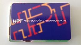 TELECARTE CROATIE 100 UNITES - 1997 - Croatie