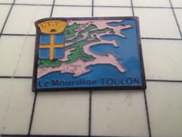 Pin611b Pin's Pins : Rare Et Belle Qualité : VILLES / LE MOURILLON TOULON  BLASON ECUSSON ARMOIRIES - Cities