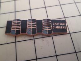 Pin611b Pin's Pins : Rare Et Belle Qualité : VILLES / CHATEAU D'ANGERS - Cities