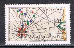 Carte Maritime N°269 - Cape Verde