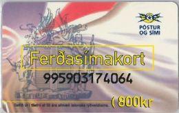 PREPAID PHONE CARD ISLANDA - ICELAND (E11.8.7 - Iceland