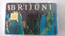 TELECARTE CROATIE 500 UNITES - 1994 - BRIJUNI - Kroatien