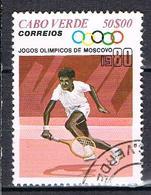 Jeux Olympiques De Moscou N°419 - Cape Verde