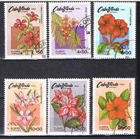 Fleurs Typiques N°437 à 442 - Cape Verde