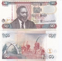 Kenya - 50 Shillings 2009 UNC Ukr-OP - Kenya