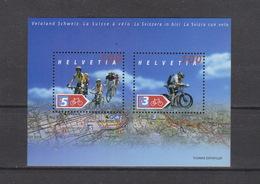 Schweiz  ** Block  35 Velo Land  Schweiz Postpreis CHF 2,00 - Schweiz