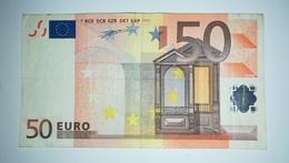 EURO - HOLLAND 50 EURO (P) G002 Sign DUISENBERG - EURO