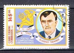 Poète Et Compositeur Du Cap-Vert N°472 - Cape Verde