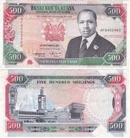 Kenya - 500 Shillings 1993 VF Ukr-OP - Kenya