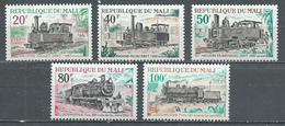Mali YT N°142/146 Locomotives Neuf ** - Mali (1959-...)