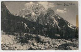C.P.  PICCOLA     CADORE   MONTE   ANTELAO    1910     2 SCAN   (VIAGGIATA) - Italia