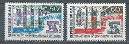 Mali YT N°116/117 Organisation Internationale Du Travail Neuf ** - Mali (1959-...)