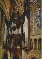 (FRA613) CHARTRES . LA CATHEDRALE. ORGA. ORGUEL. ORGUE. ORGANO ... UNUSED - Chartres