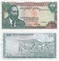 Kenya - 10 Shillings 1976 F Ukr-OP - Kenya