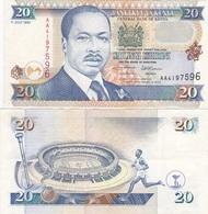 Kenya - 20 Shillings 1995 VF+ Ukr-OP - Kenya