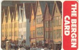 BIGLIETTO THE BERGEN CARD -NORVEGIA (M17.6 - Bus
