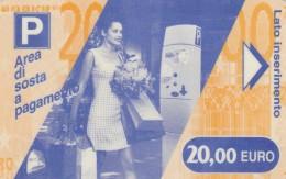 BIGLIETTO MAGNETICO PARCHEGGIO 20 E (M18.8 - Tickets - Vouchers