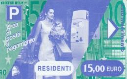 BIGLIETTO MAGNETICO PARCHEGGIO 15 E (M19.1 - Tickets - Vouchers