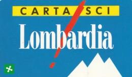 CARTA SCI LOMBARDIA (M19.2 - Tickets - Vouchers
