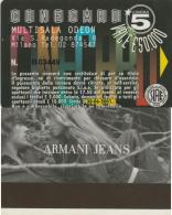 CINECARD MULTISALA ODEON -ARMANI (M19.8 - Tickets - Vouchers