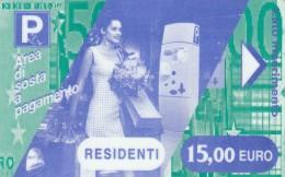 BIGLIETTO MAGNETICO PARCHEGGIO 15 E (M25.1 - Tickets - Vouchers