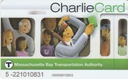CARD MASSACHUSETTS BAY TRANSORRTATION  (M25.2 - Bus