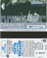 SCHEDA MAGNETICA PARCHEGGIO TORINO - TISCALI (M25.4 - Tickets - Vouchers