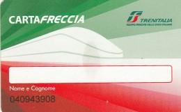 CARTA FRECCIA - TRENITALIA (M26.5 - Other