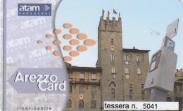 BIGLIETTO PARCHEGGIO AREZZO MAGNETICO (M26.8 - Tickets - Vouchers