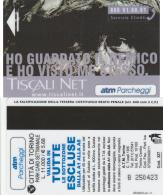 SCHEDA MAGNETICA PARCHEGGIO TORINO - TISCALI (M28.6 - Tickets - Vouchers