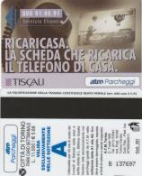 SCHEDA MAGNETICA PARCHEGGIO TORINO - TISCALI (M29.5 - Tickets - Vouchers