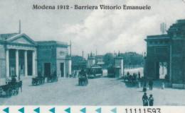 BIGLIETTO BUS MODENA - MAGNETICO PLASTICA DURA (M3.2 - Bus