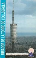 BIGLIETTO PER  LA TORRE DE COLLSEROLA (M3.6 - Tickets - Vouchers
