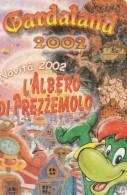 BIGLIETTO INGRESSO GARDLAND 2002 (M3.7 - Tickets - Vouchers