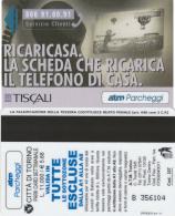 SCHEDA MAGNETICA PARCHEGGIO TORINO - TISCALI (M30.5 - Tickets - Vouchers