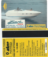 SCHEDA MAGNETICA PARCHEGGIO TORINO - FIART (M32.1 - Tickets - Vouchers