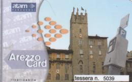 BIGLIETTO PARCHEGGIO AREZZO MAGNETICO (M4.6 - Tickets - Vouchers