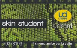 SCHEDA STUDENTI UCI CINEMA (M5.1 - Tickets - Vouchers