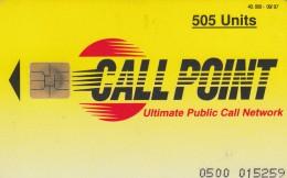 SCHEDA TELEFONICA PREPAGATA CALL POINT 505 UNITA (M5.5 - Italie