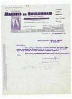 S A  MARBRES DU BOULONNAIS HYDREQUENT RINXENT (PAS DE CALAIS)  1935 - France