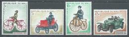 Mali YT N°111/114 Bicyclettes Et Automobiles Anciennes Neuf ** - Mali (1959-...)