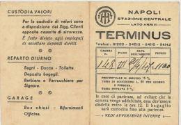 CARTOLINA HOTEL TERMINUS NAPOLI 1947 (HX19 - Italia