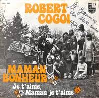 Robert Cogoi - Maman Bonheur (45 Tours) - Zonder Classificatie